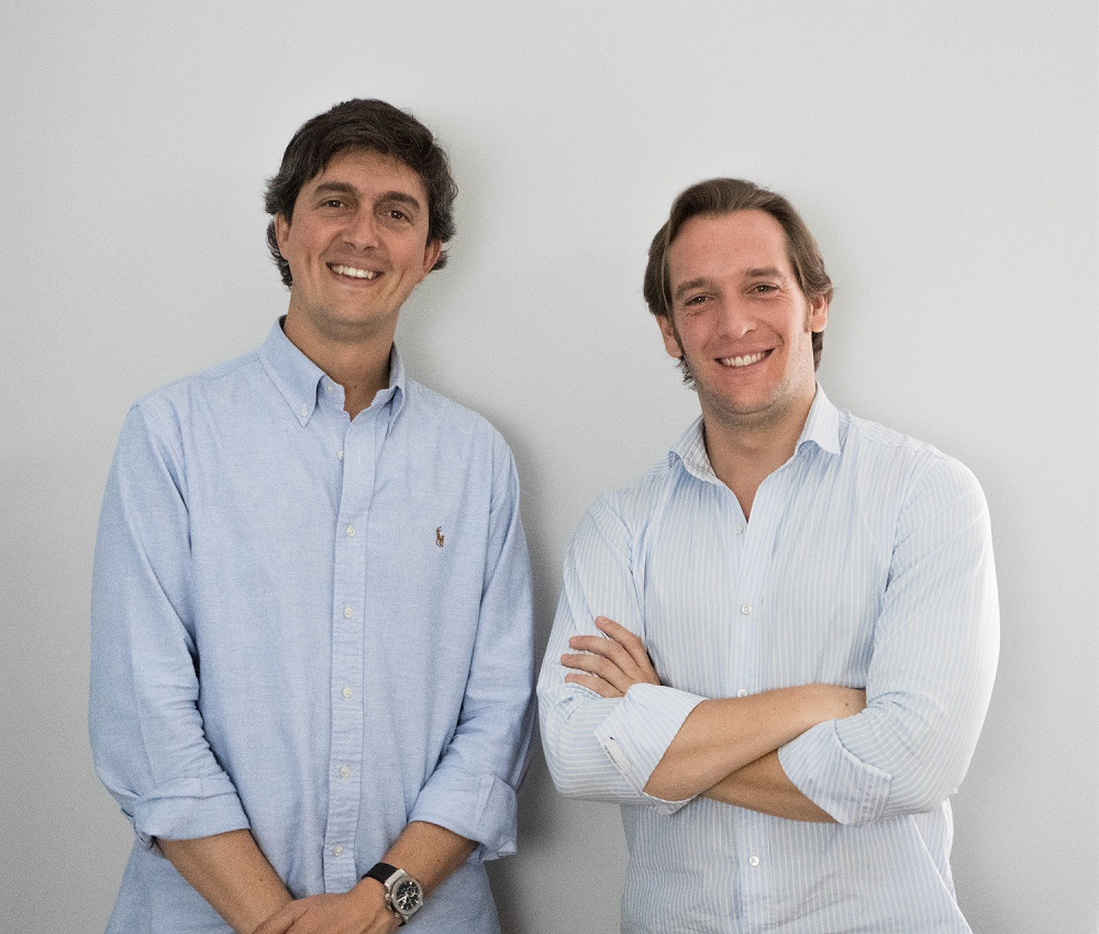 Bnext's co-founders Guillermo Vicandi and Juan_Antonio Rullán