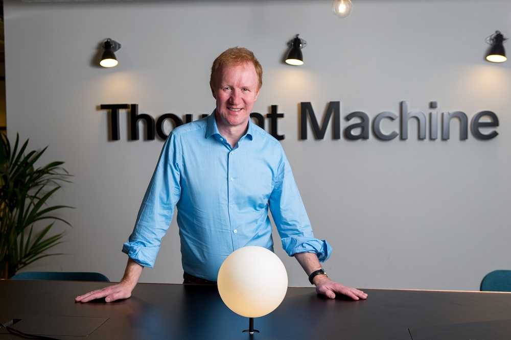 Thought Machine founder and CEO, Paul Taylor
