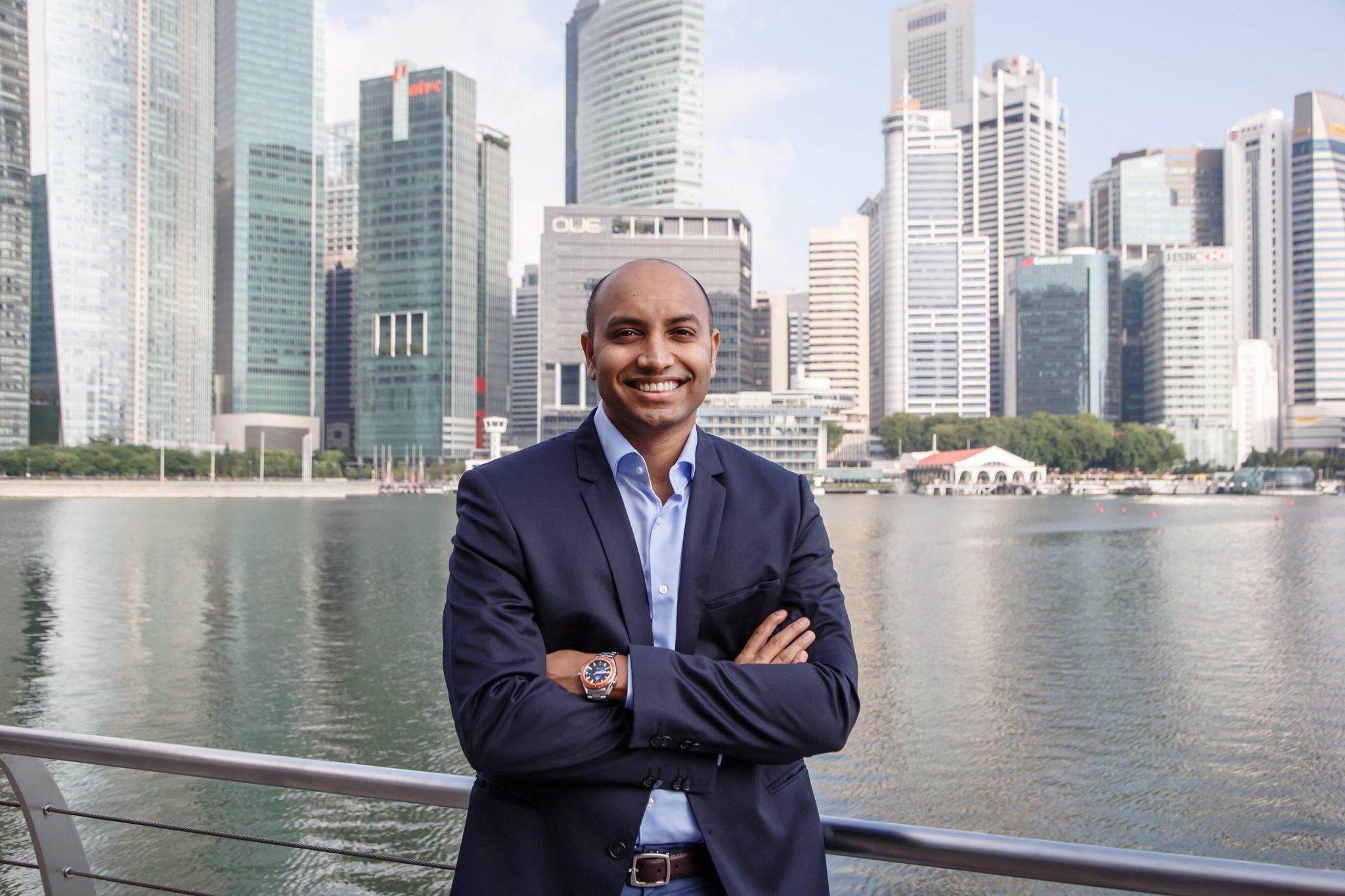 Nium's co-founder and CEO, Prajit Nanu