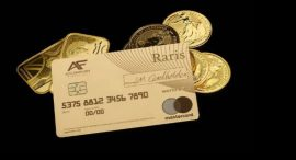 UK's Royal Mint unveils first 18-carat gold payment card