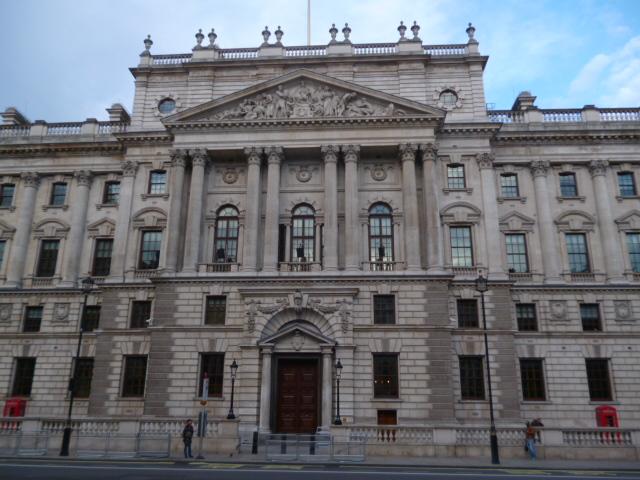 UK government and treasury