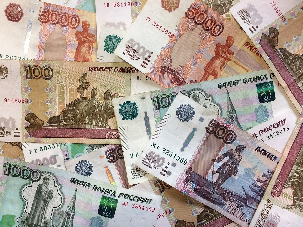 Russian rubels