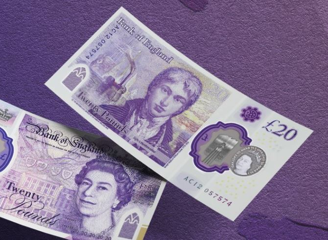 UK's new £20 note arrives as campaigners warn cash system could collapse