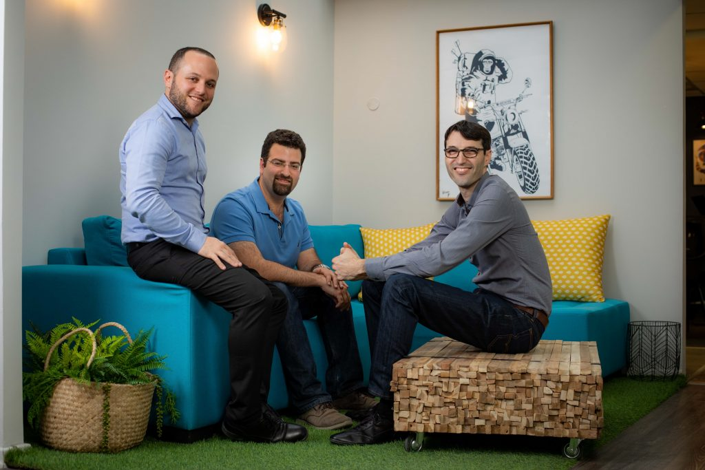 Rewire Co-founders (left to right): Guy Kashtan (CEO), Adi Ben Dayan (R&D VP), Saar Yahalom (CTO)