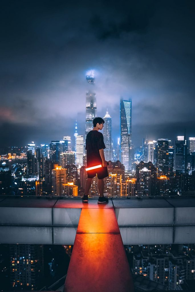 guy in China Shanghai