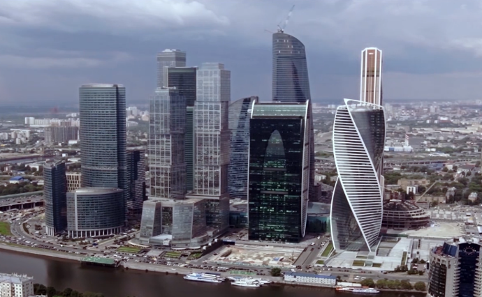 Russia's banking district