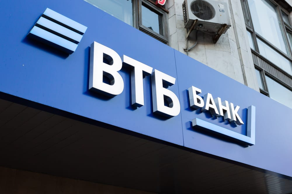 VTB Bank sign