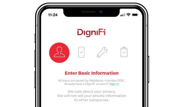 Car repair loan fintech DigniFi app