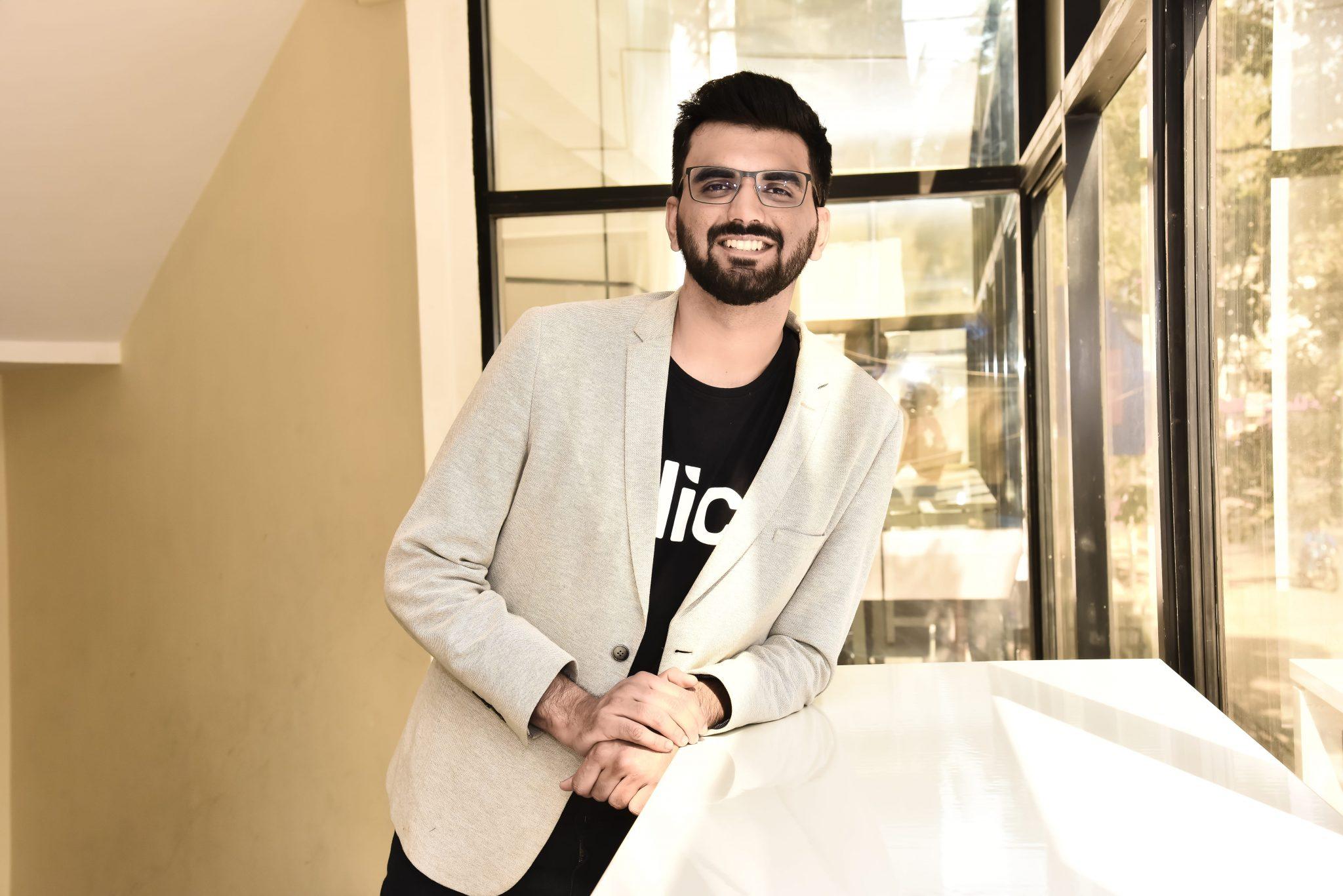 Slice's CEO Rajan Bajaj