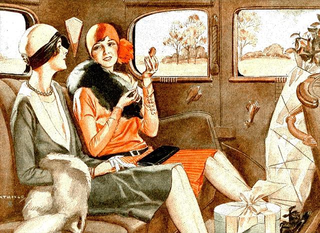 1920s vintage image