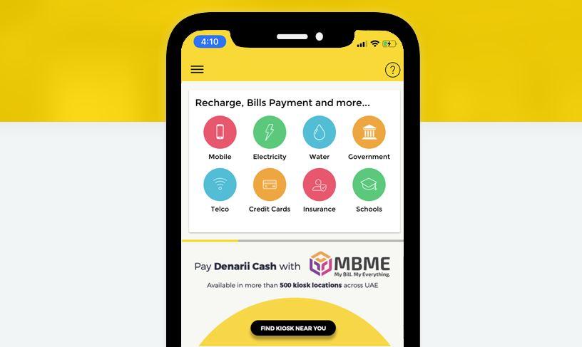 Denarii Cash app