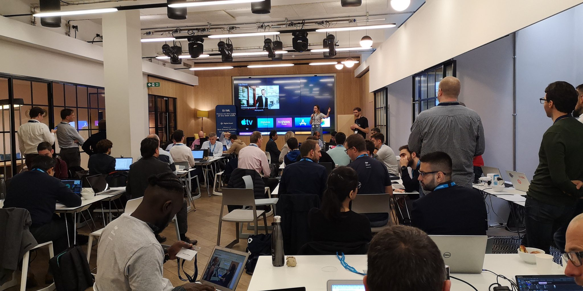 Barclays Rise hackathon in 2019