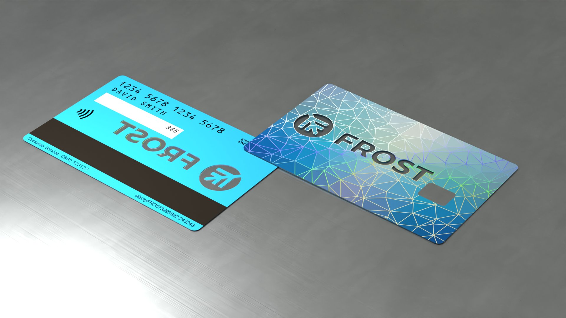 Frost cards mock up