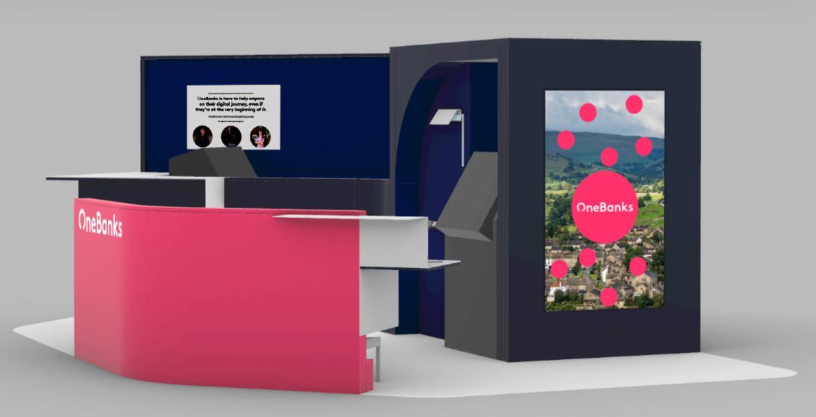 OneBanks kiosk