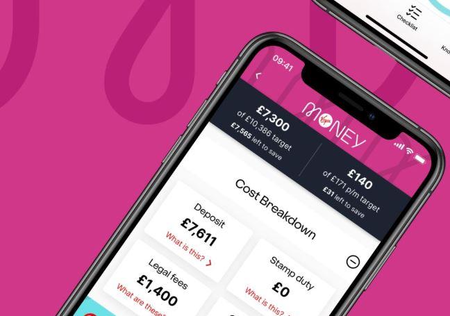 Virgin Money home buyer app