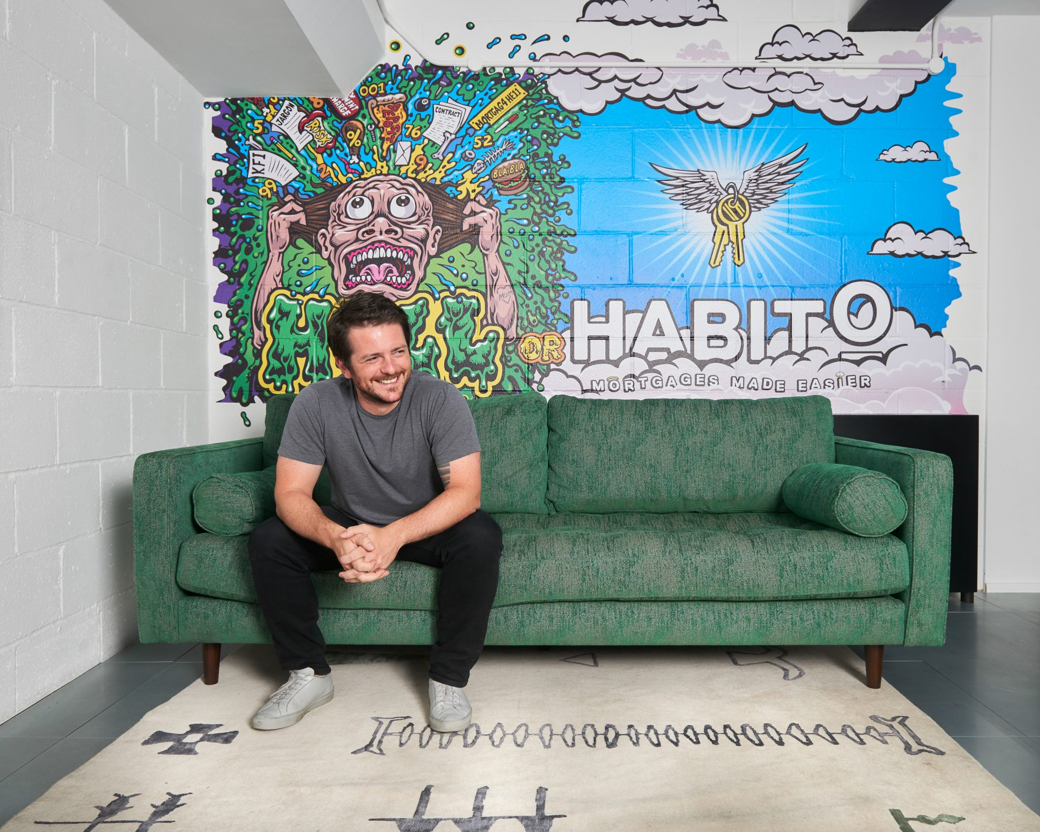 Habito CEO Daniel Hegarty