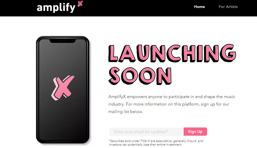 AmplifyX website