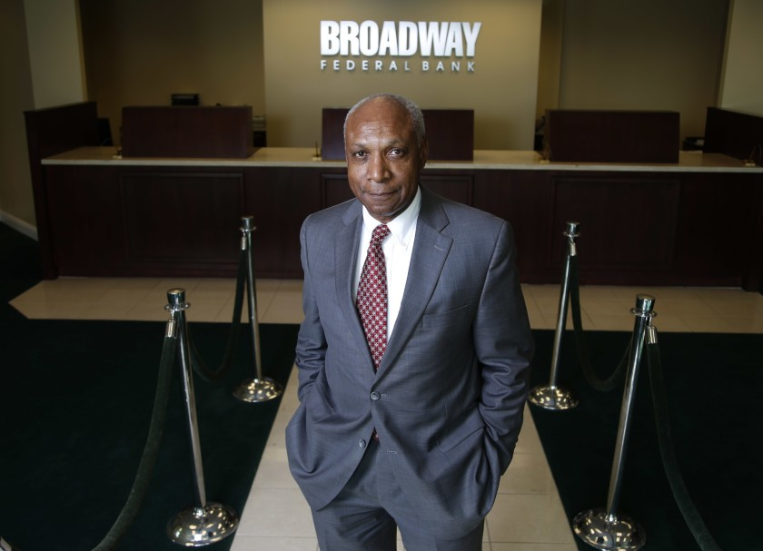 chief executive of Broadway Federal Bank