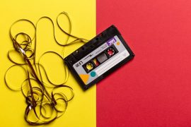Cassette tape mix-tape image