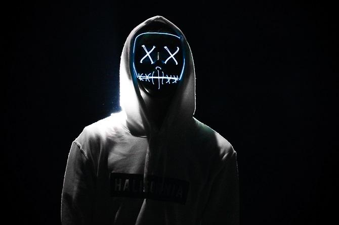 dark cybersecurity concept art