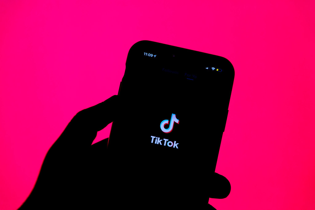 TikTok logo [Photo by Solen Feyissa, CC BY]