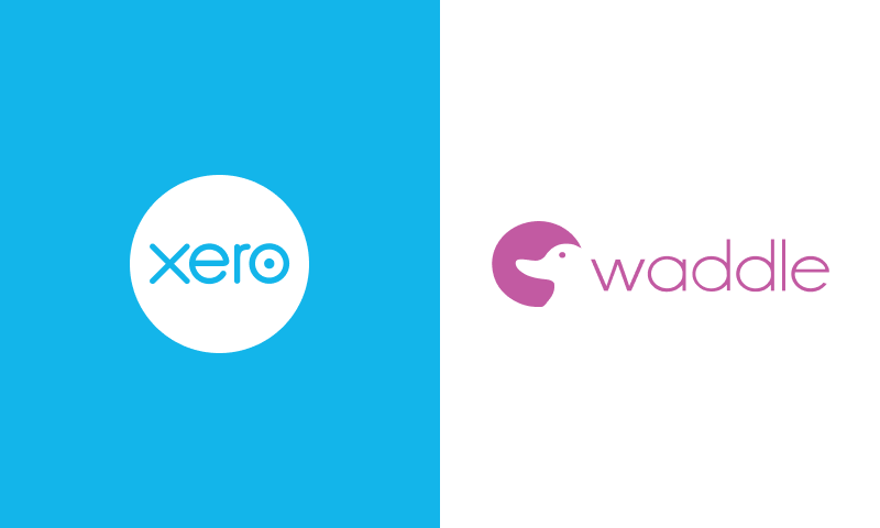 Xero and Waddle logos