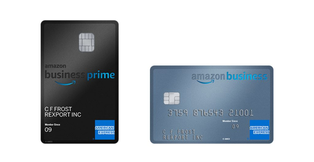 AmEx and Amazon cards