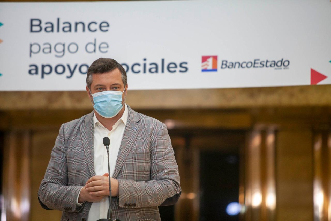 BancoEstado's president Sebastián Sichel