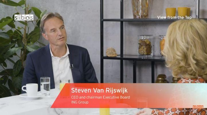 ING's chief executive Steven Van Rijswijk