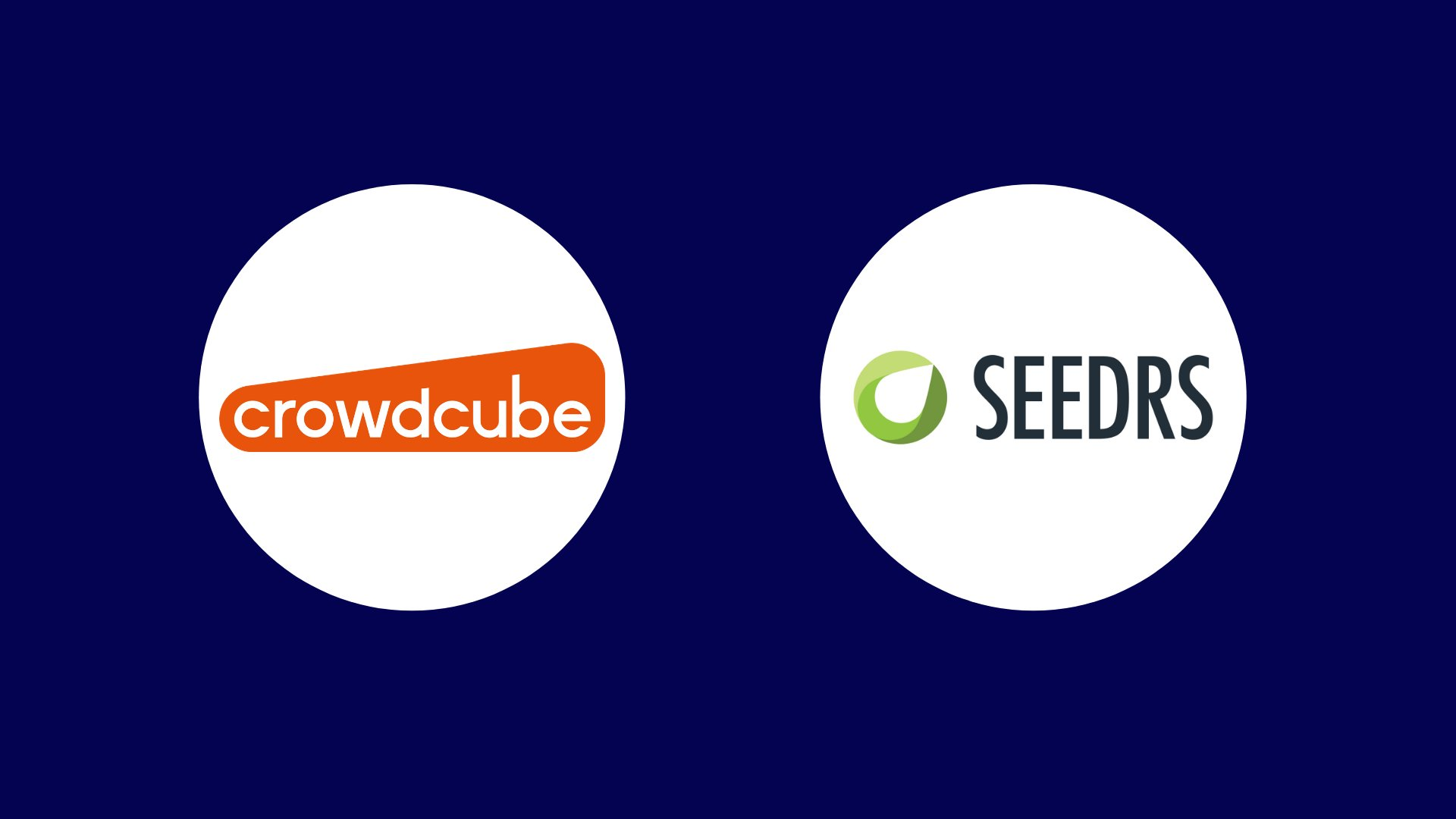 Crowdcube and Seedrs logos