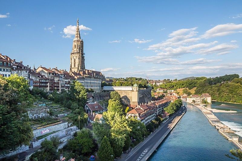 Swiss capital Bern [Photo by Dmitry A. Mottl, CC BY 4.0]