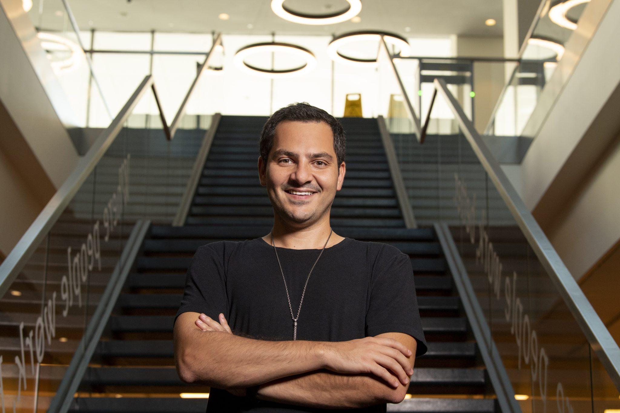 Papara's founder and CEO Ahmed Karslı