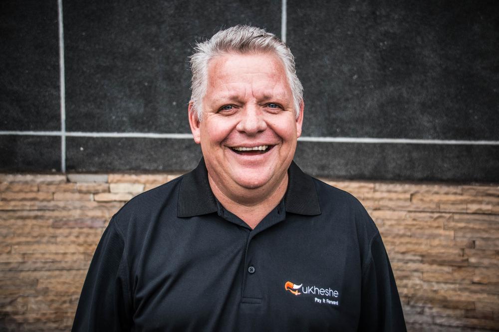 Ukheshe's CEO Clayton Hayward