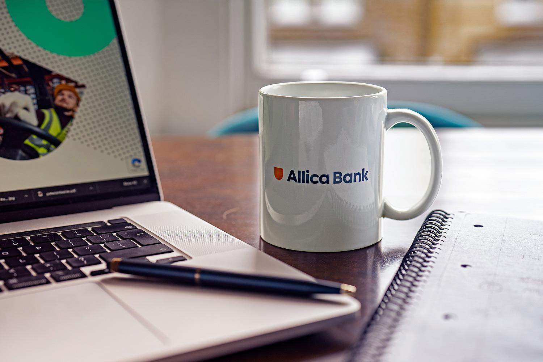 Allica branding
