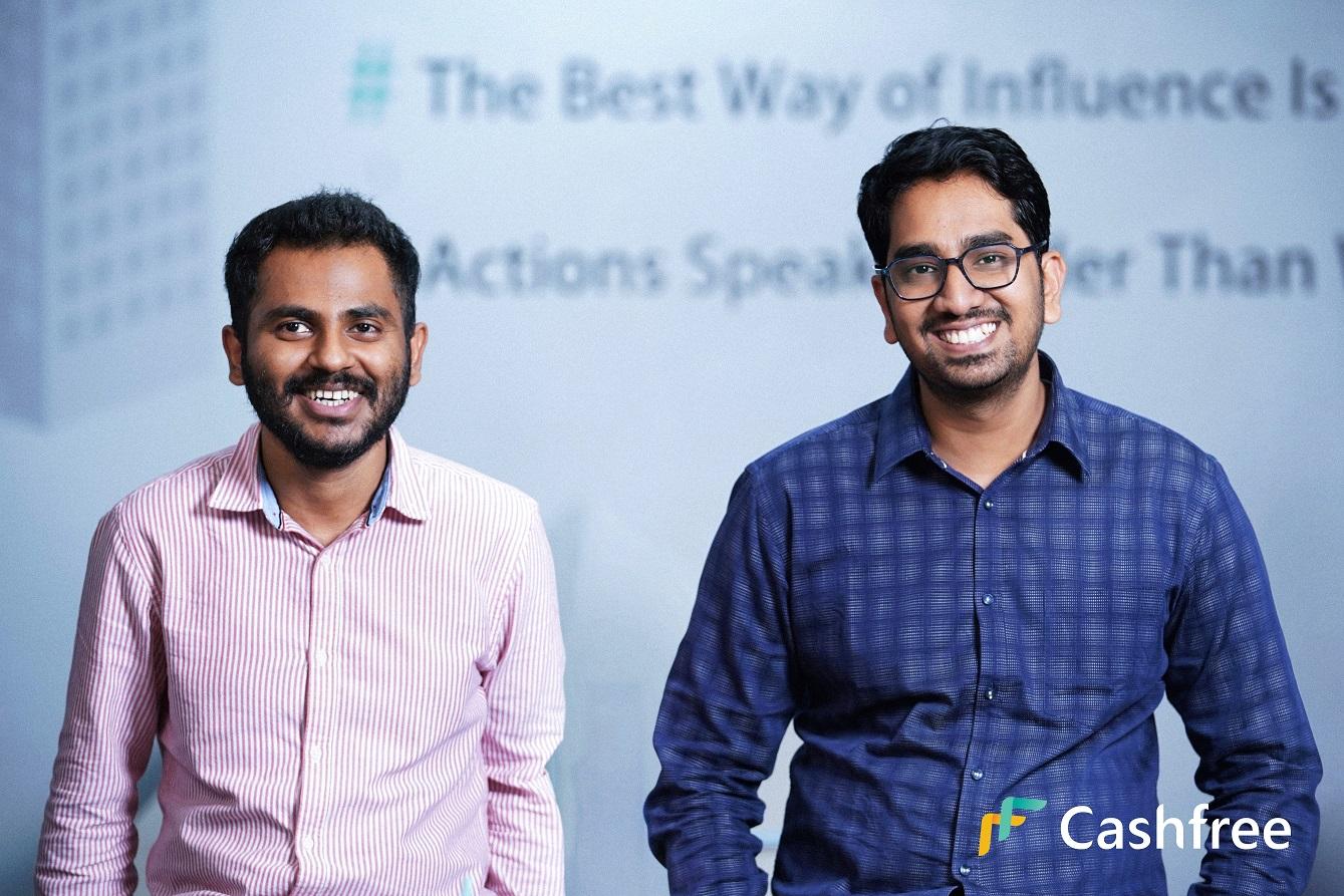 Cashfree co-founders Reeju Datta and Akash Sinha