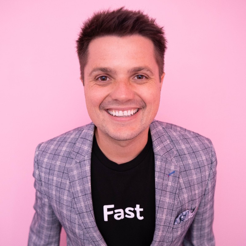 Fast's CEO Domm Holland