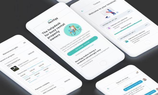 NestEgg app display