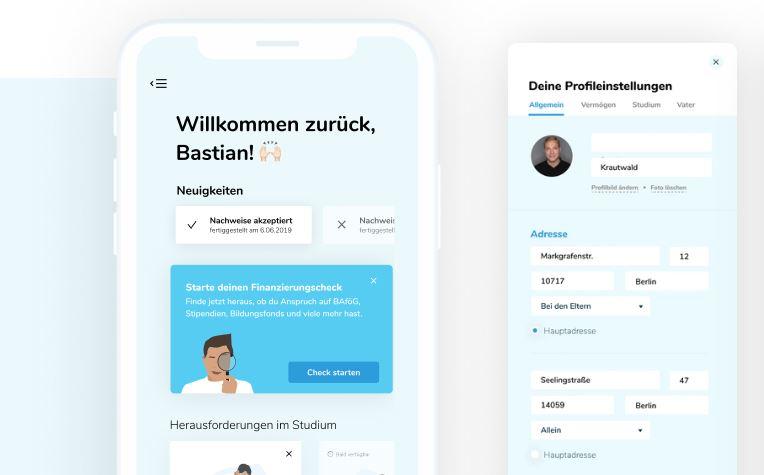 finleap's latest investment deineStudienfinanzierung's app