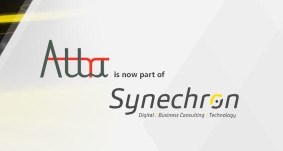 Synechron Attra logos