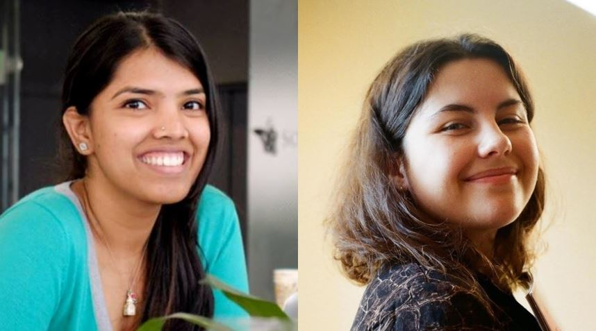 Plaid's growth manager, Nell Malone, and its design manager, Bhargavi Kamakshivalli