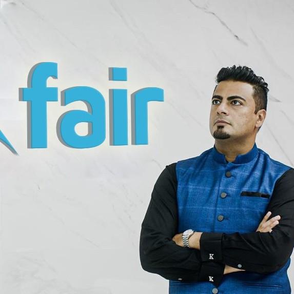 Fair's founder and CEO, Khalid Parekh