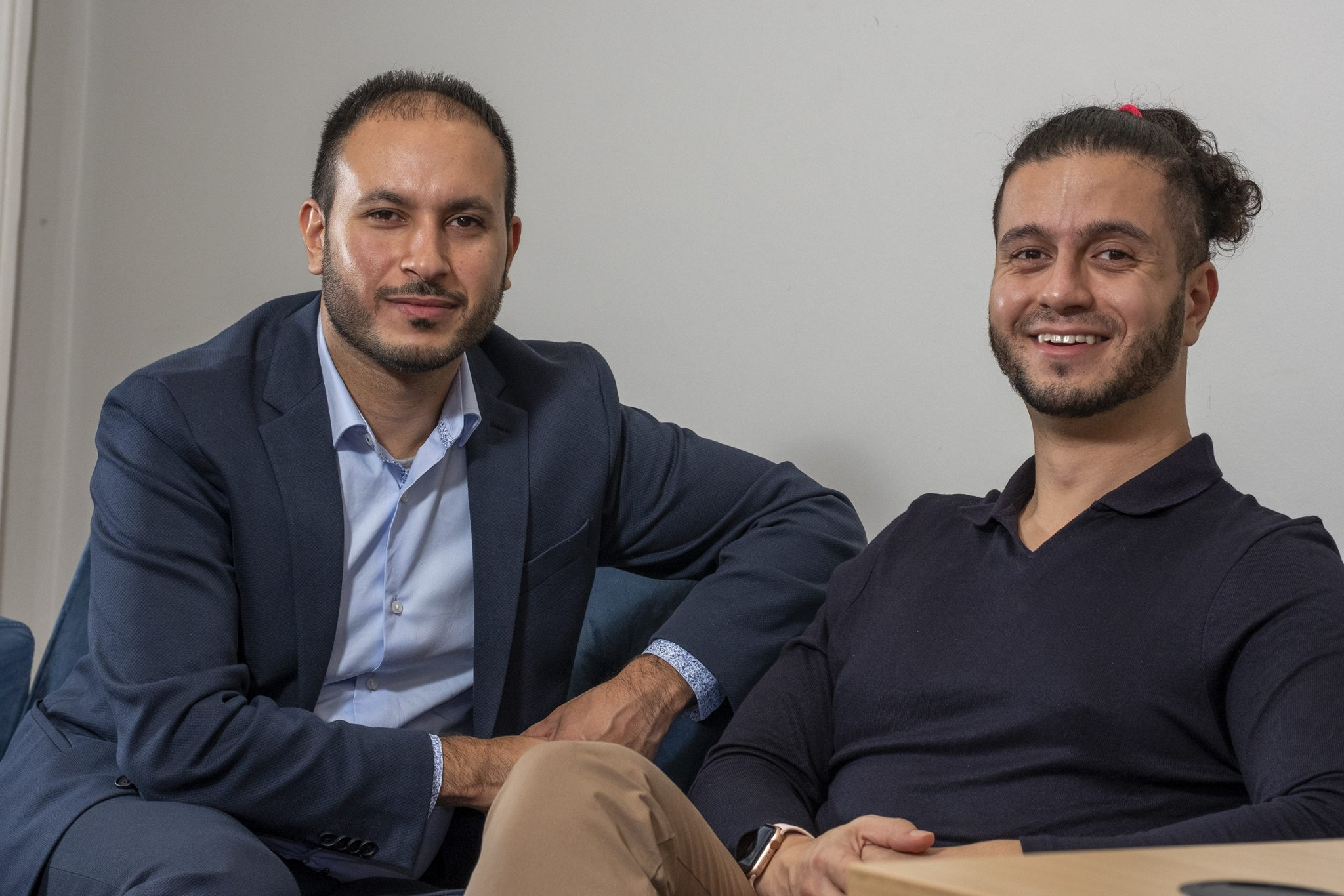 Algbra's co-founders