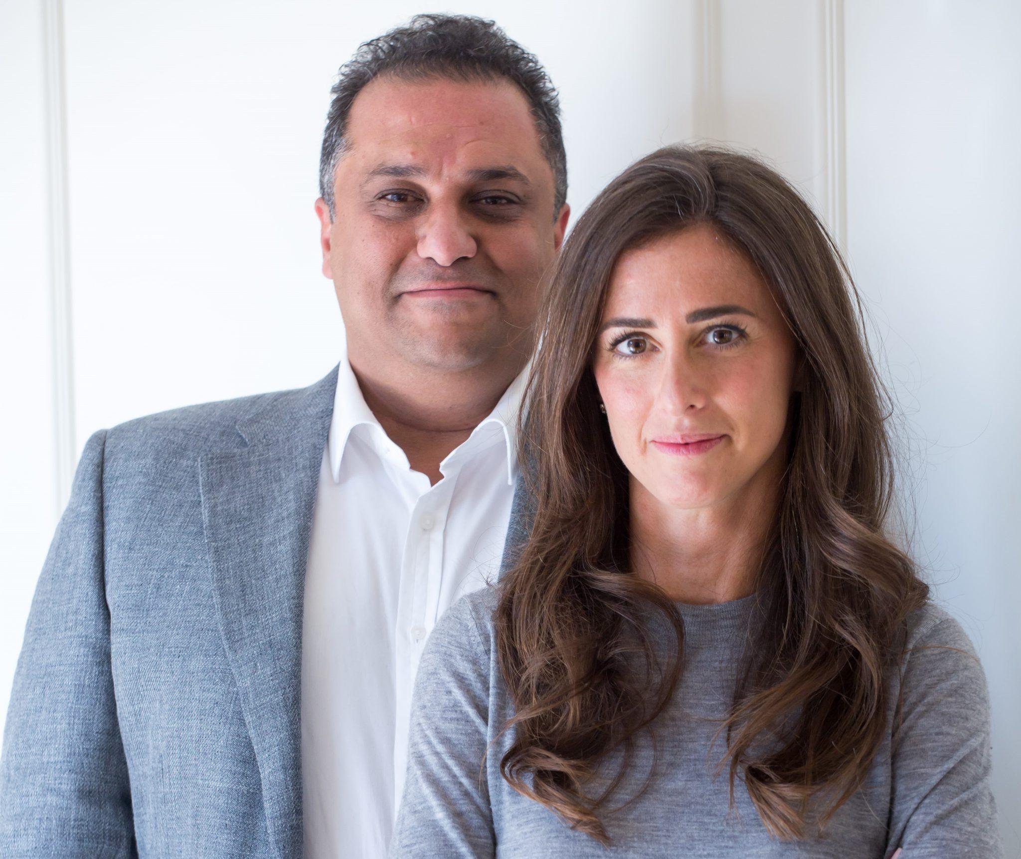 Global Ventures partners Basil Moftah and Noor Sweid
