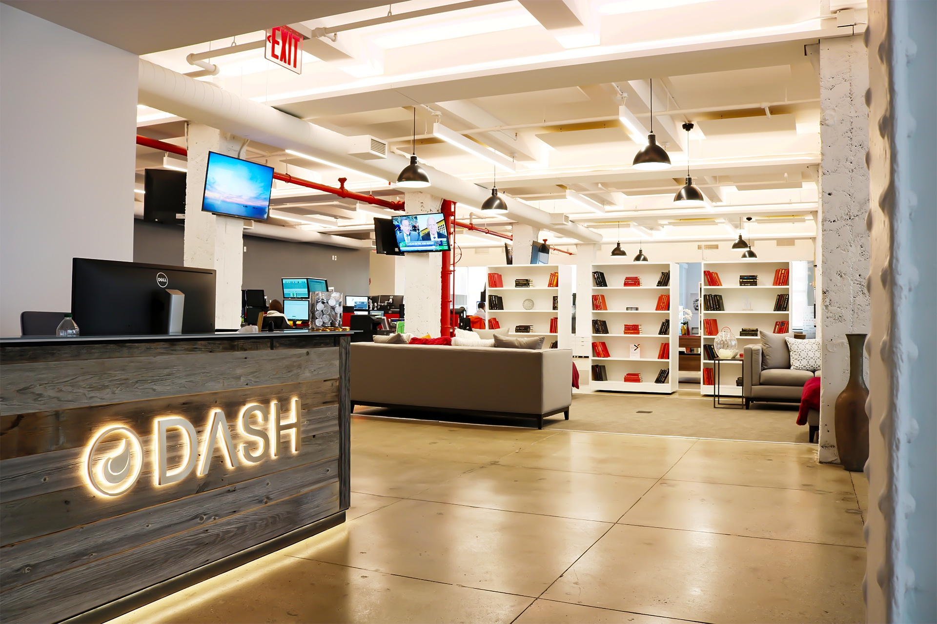 Dash offices