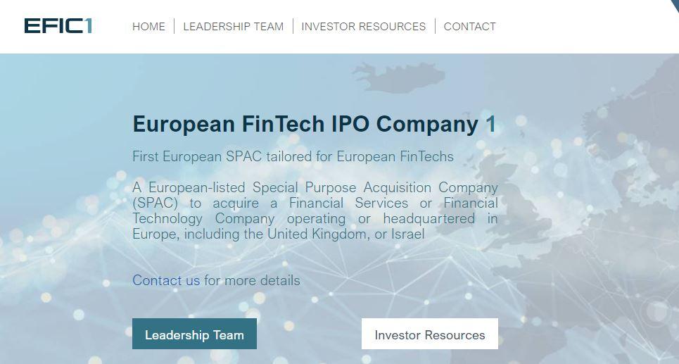 EFIC1 web page