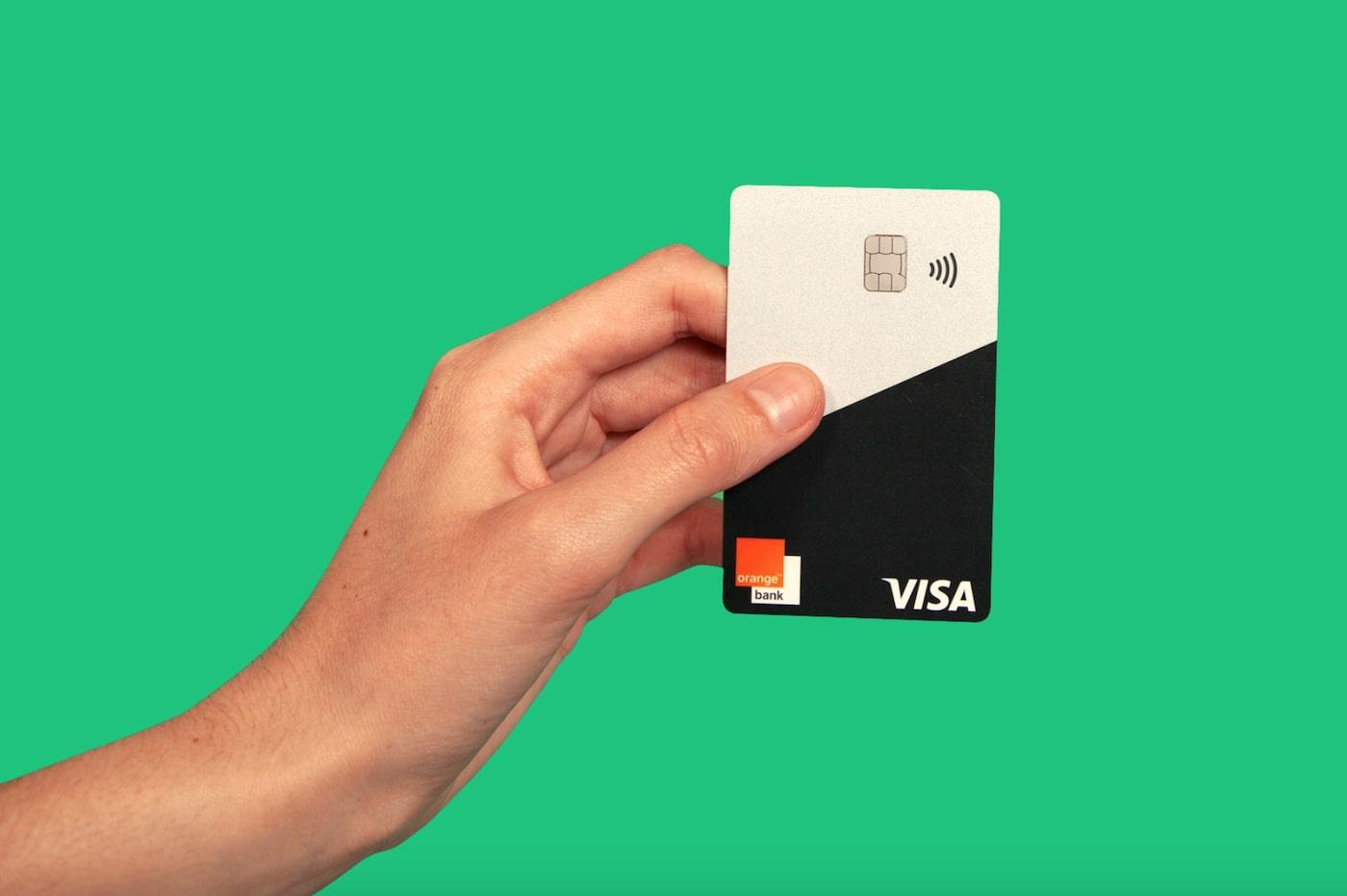 Orange Bank card