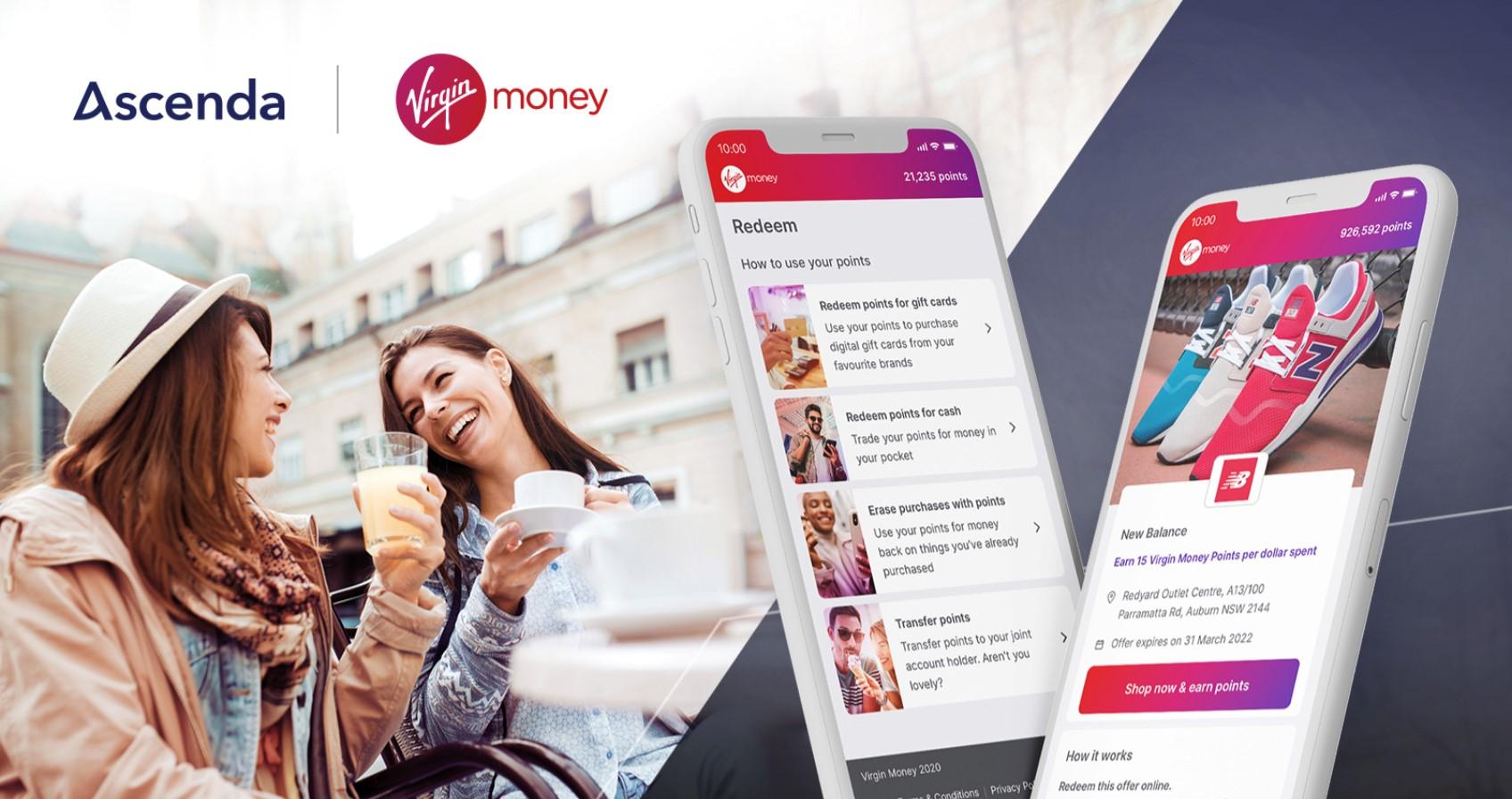 Virgin Money Australia rewards scheme