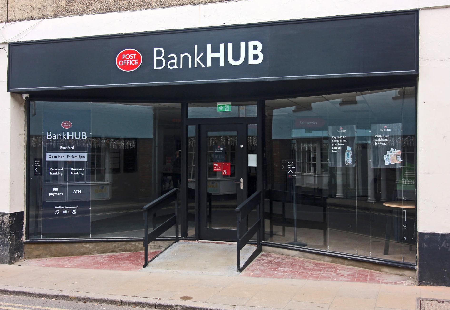 BankHub sop front