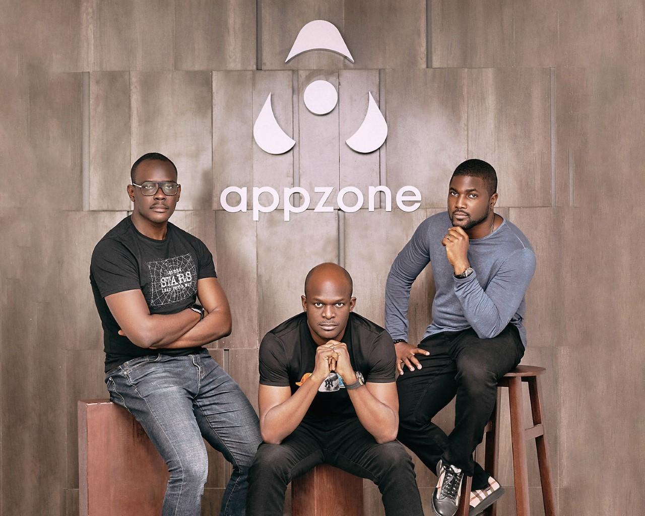 Appzone co-founders Emeka Emetarom, Obi Emetarom and Wale Onawunmi