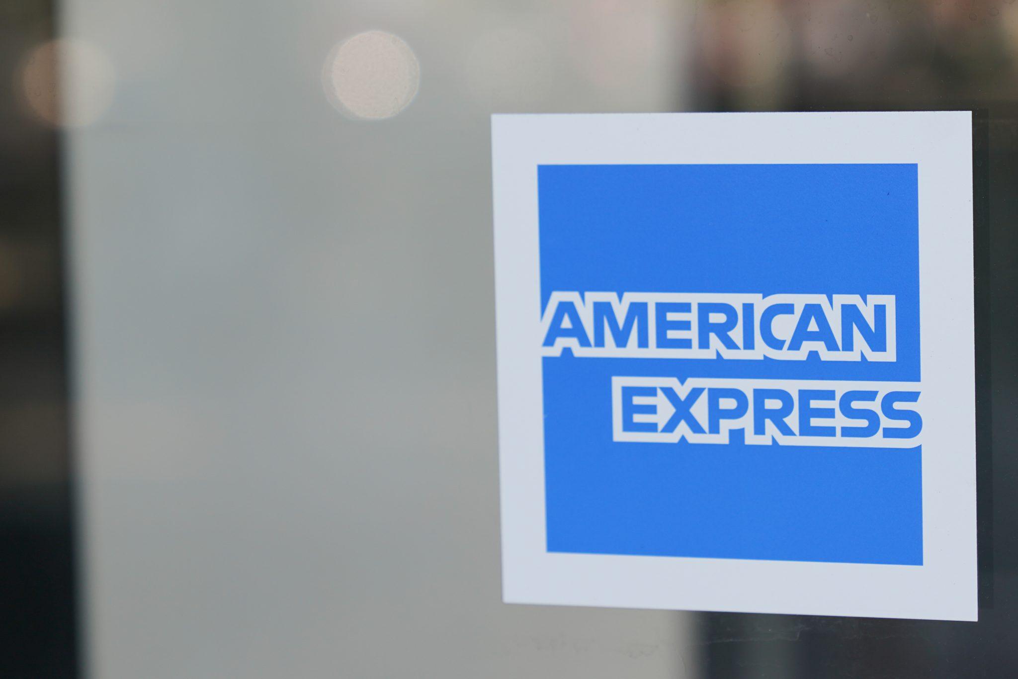 American Express logo [Adobe]